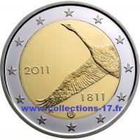 2 €uros Finlande 2011 (UNC Sortie de Rouleau)