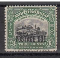 Bornéo du Sud - Numéro 41 Taxe - neuf avec charnière