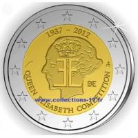 2 €uros Belgique 2012 (UNC Sortie de Rouleau)