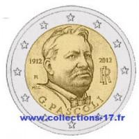 2 €uros Italie 2012 (UNC Sortie de Rouleau)