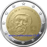 2 €uros France 2012 (UNC Sortie de Rouleau)