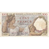 100 Francs Sully 16-8-1940