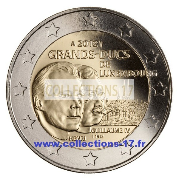 2 €uros Luxembourg 2012