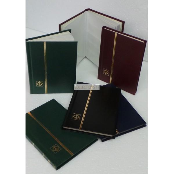 Classeur à bandes - 16 pages - petit format - Coloris Bordeaux