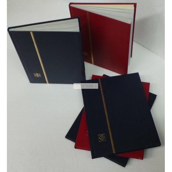 Classeur à bandes - 16 pages - Moyen Format - Coloris  Bleu