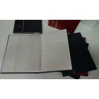 Classeur à bandes - 16 pages - Moyen Format - Coloris Rouge Foncé