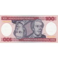 Banque Centrale du Brésil 100 Cruzeiros