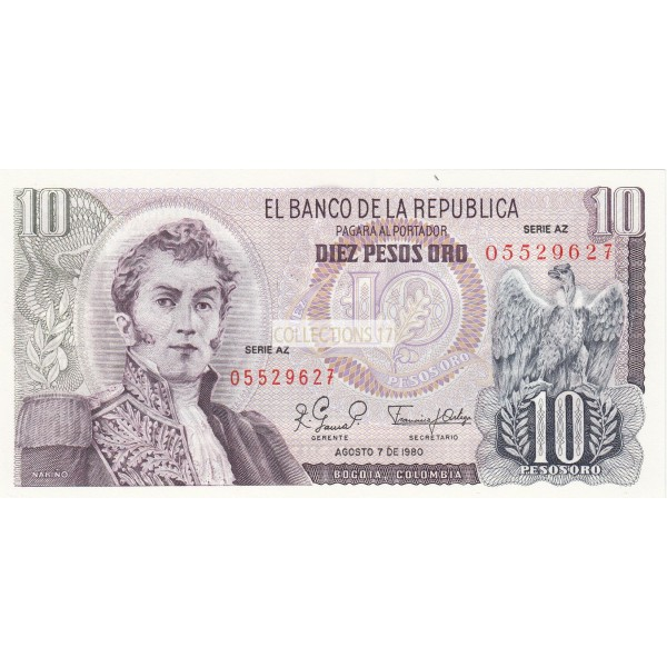 10 Pesas Bogota Colombie