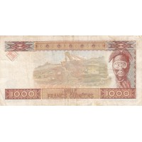 1000 Francs République de Guinée - 1985