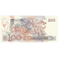 Brésil 100 Cruzeiros