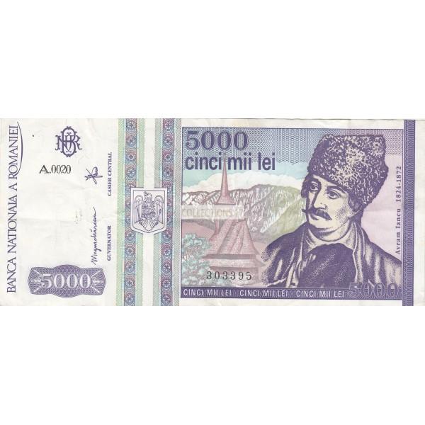 Roumanie 5000 Lei Mai 1993