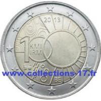 2 €uros Belgique 2013 (UNC Sortie de Rouleau)