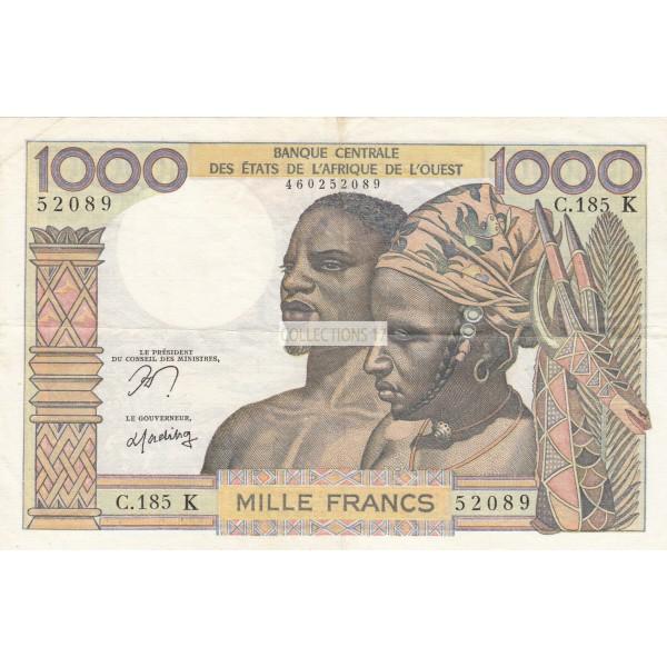 1000 Francs Afrique de L'ouest