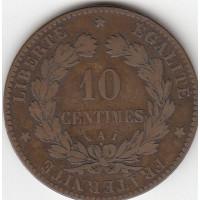 10 Centimes Cérès 1888 A
