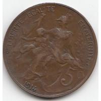 5 Centimes  Dupuis 1914