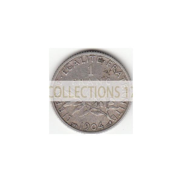 1 Francs Semeuse 1904