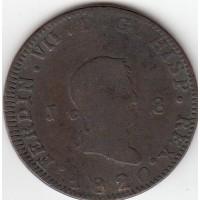 Espagne 1820 Mint J-Ja