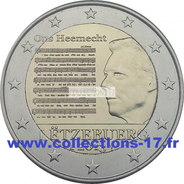 2 €uros Luxembourg 2013