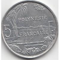 5 Francs Polynésie-Française 1986