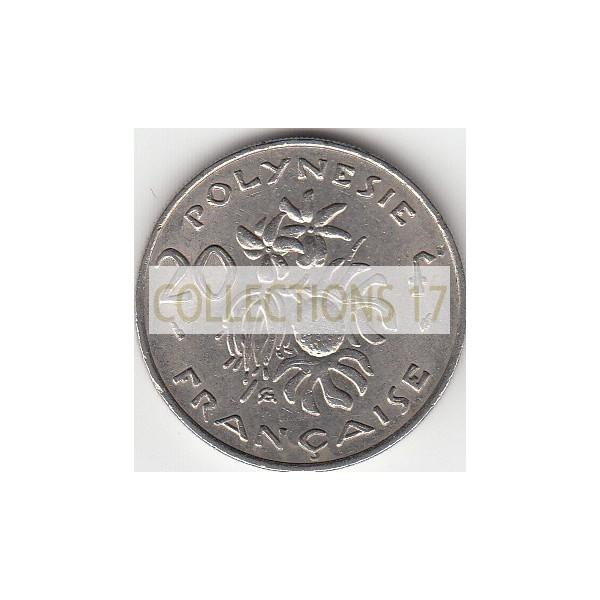 20 Francs Polynésie-Française 1975