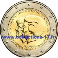 2 €uros Pays-Bas 2013 *2 (UNC Sortie de Rouleau)