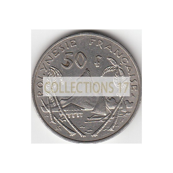50 Francs Polynésie-Française 1967