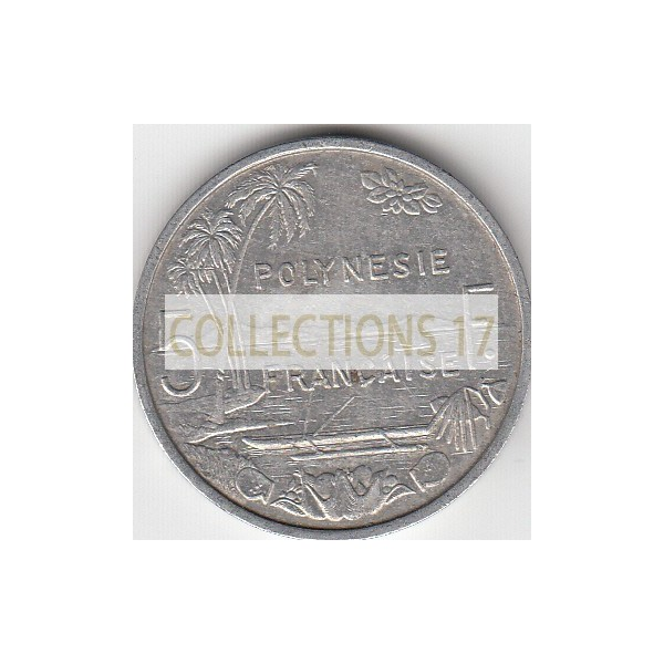 5 Francs Polynésie-Française 1983