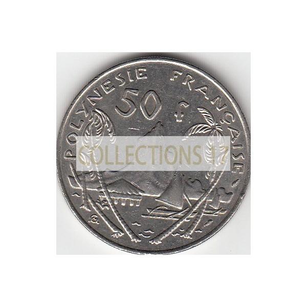 50 Francs Polynésie-Française 1975