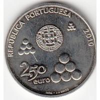 2.50€ Portugal 2010 - 200 Jahre Linhas de Torres