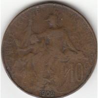 10 centimes Dupuis 1902
