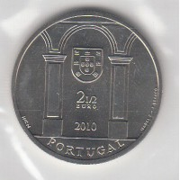 2.50€ Portugal 2010 - Terreiro do Paço
