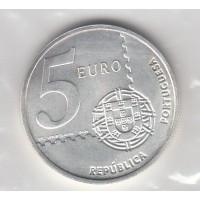 5 Euros Portugal 2003 - Argent