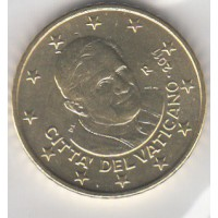 50 Centimes Vatican 2011 (UNC Sortie de Coffret)