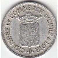 Monnaie de Nécéssité - 25 cts Eure et Loire 1922