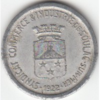 Monnaie de Nécéssité Soulac Sur Mer - 10 cts 1922