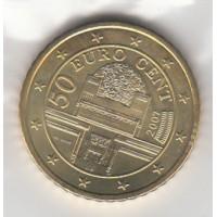 50 Centimes Autriche 2007 (UNC Sortie de Coffret)