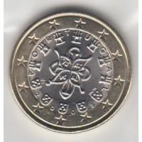 1 Euro Portugal 2008 (UNC Sortie de Rouleau)