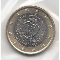 1 Euro St Marin 2004