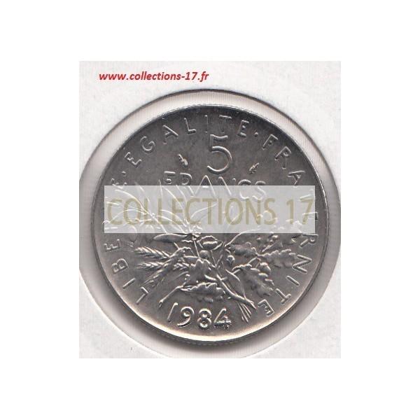 5 Francs Semeuse 1994 Abeille
