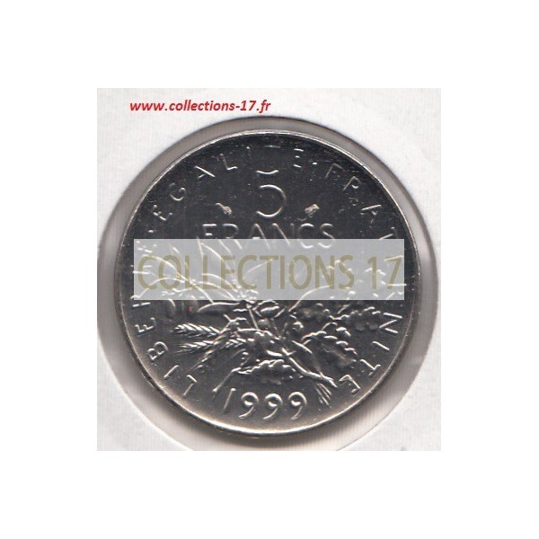 5 Francs Semeuse 1999