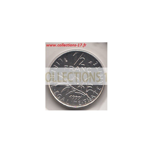 50 Centimes Semeuse 1999