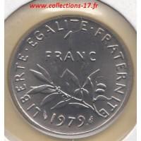 1 Franc Semeuse 1979