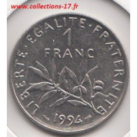 1 Franc Semeuse 1994 Abeille