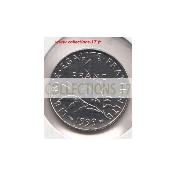 1 Franc Semeuse 1999