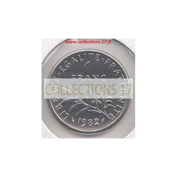 1 Franc Semeuse 1982