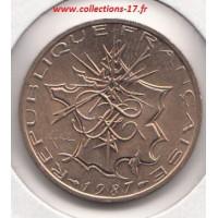10 Francs Mathieu 1987 Tranche A