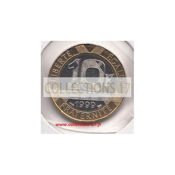 10 Francs Génie 1999