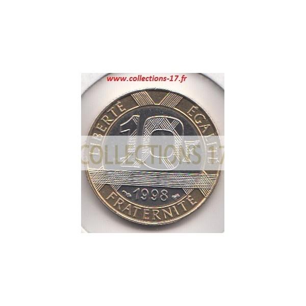 10 Francs Génie 1998