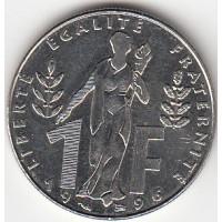 1 Franc Jacques Rueff - 1996
