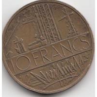 10 Francs Mathieu 1980 Tranche A